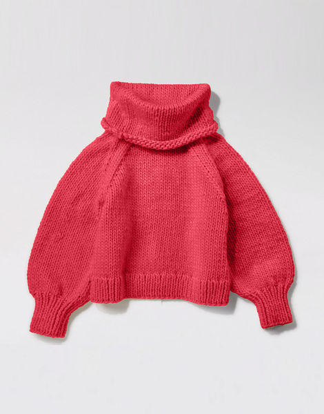 Patrick mcdowell sweater csw candy red