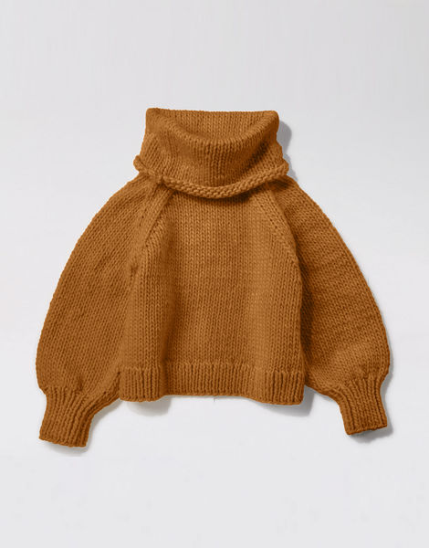 Patrick mcdowell sweater csw brown sugar