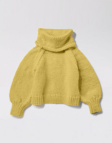 Patrick mcdowell sweater csw chalk yellow