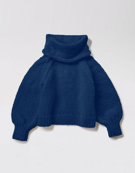 Patrick mcdowell sweater csw curasao blue