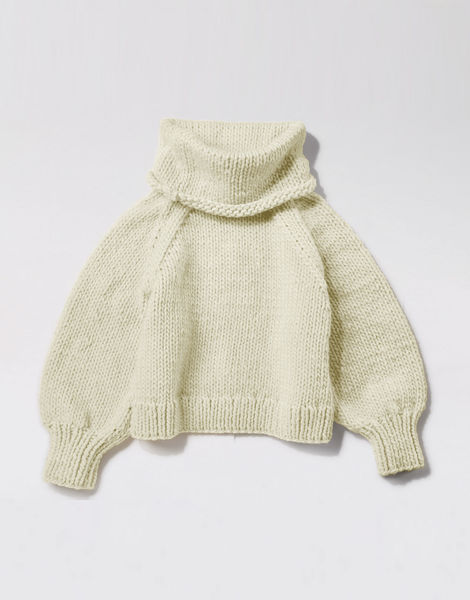Patrick mcdowell sweater csw ivory white