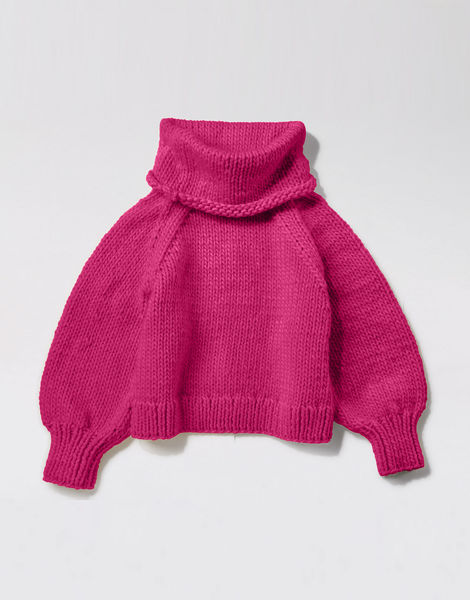 Patrick mcdowell sweater csw hot punk pink