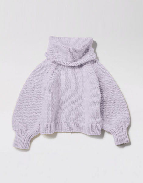 Patrick mcdowell sweater csw lilac powder