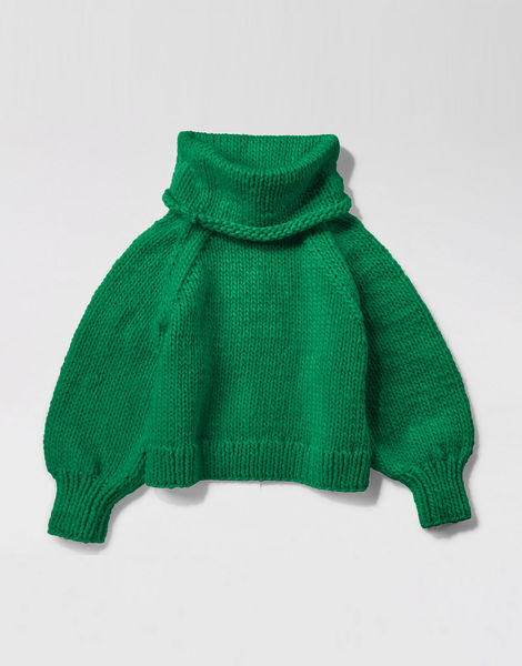 Patrick mcdowell sweater csw emerald green