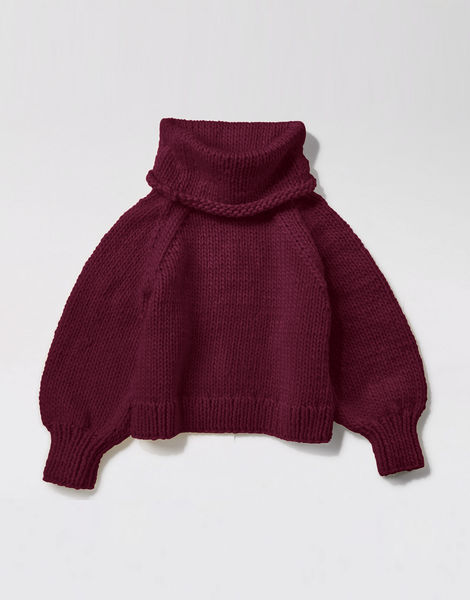 Patrick mcdowell sweater csw margaux red