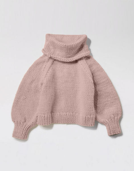 Patrick mcdowell sweater csw mellow mauve