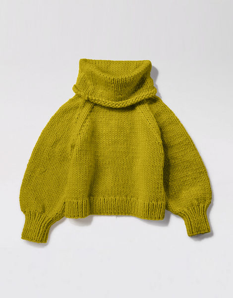 Patrick mcdowell sweater csw moss green