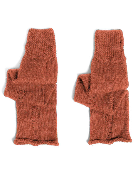 Nijin gloves sba sugar baby alpaca sba earthy orange