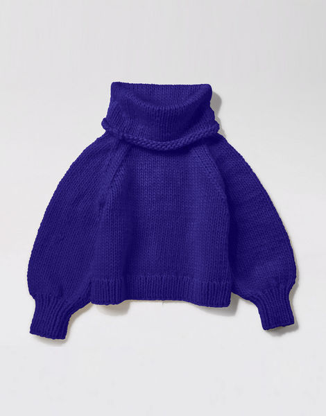 Patrick mcdowell sweater csw ultra violet
