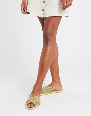Tropicana espadrilles green index
