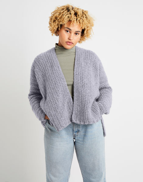 Kelly cardigan alpachino merino am rocky grey