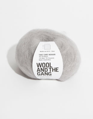 Mohair dusty grey