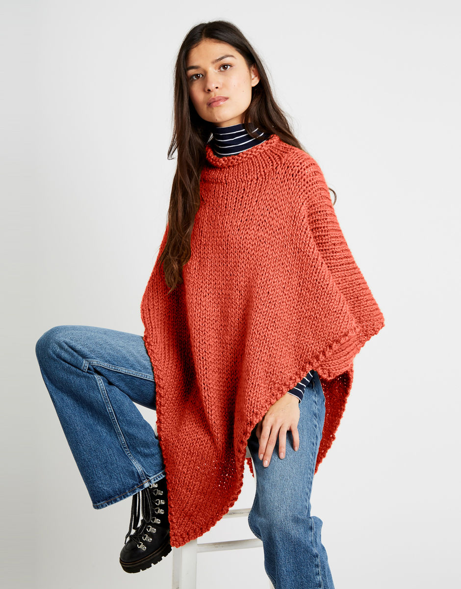 Gwyneth Poncho | Wool and the Gang
