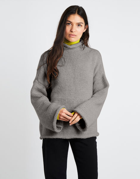 Audrey sweater am sahara dust 01 alpachino merino am rocky grey