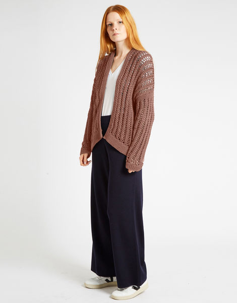 Yeah bouy cardigan nwy mellow mauve
