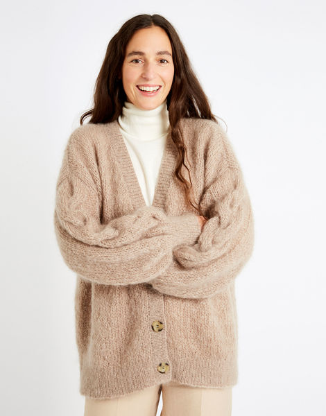 Miles cardigan tcm lazy latte index