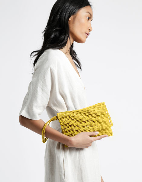 Money honey clutch rrr rrr yellow