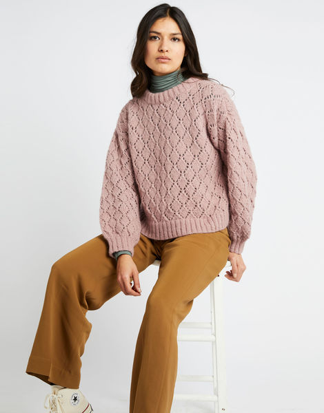 All star sweater fgy mellow mauve 05