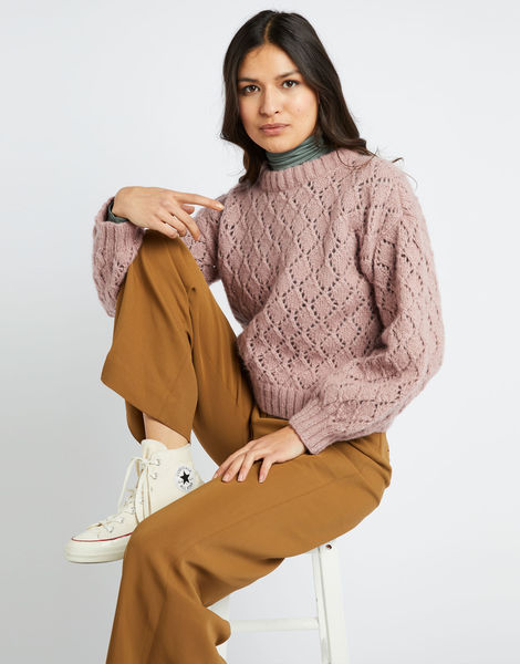 All star sweater fgy mellow mauve 01