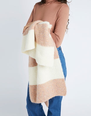 Good feel blanket fgy mineral pink ivory white 03