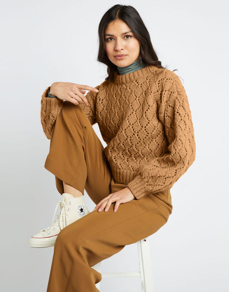 All star sweater fgy brown sugar