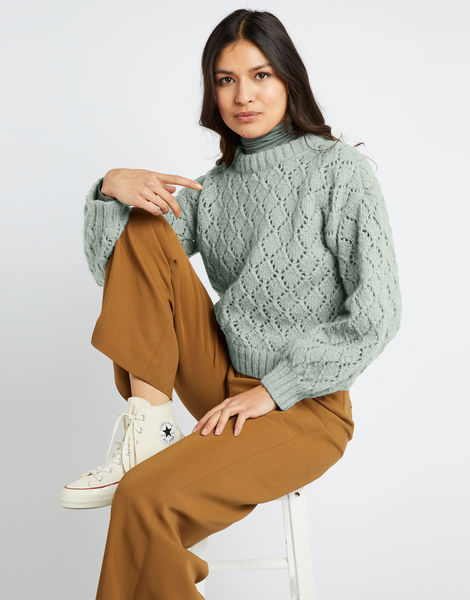 All star sweater fgy eucalyptus green