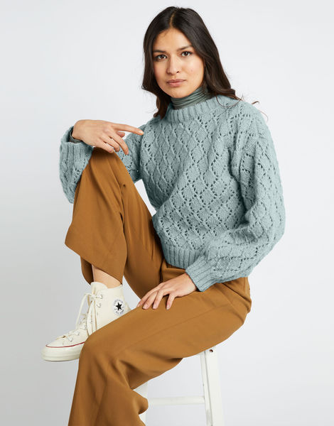 All star sweater fgy duck egg blue