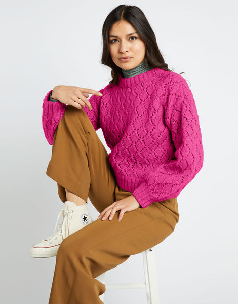 All star sweater fgy hot punk pink