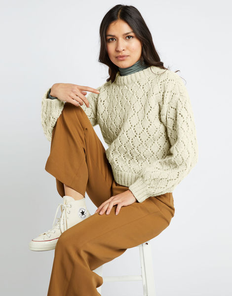 All star sweater fgy ivory white