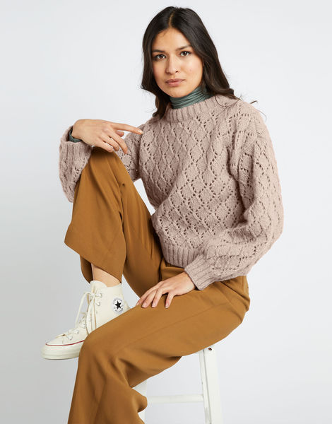 All star sweater fgy cameo rose