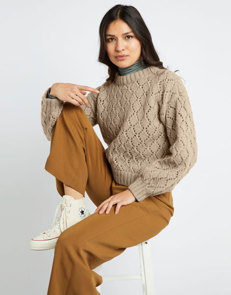 All star sweater fgy seashell beige