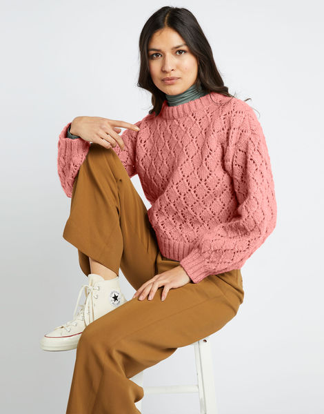 All star sweater fgy pink sherbert