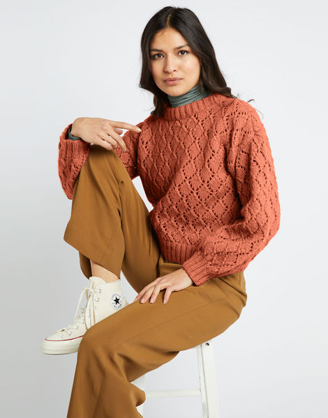 All star sweater fgy terracotta blush
