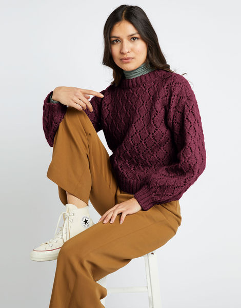 All star sweater fgy margaux red