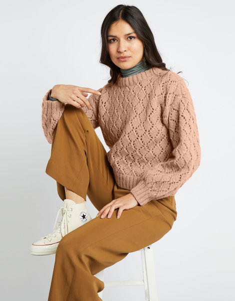 All star sweater fgy mineral pink