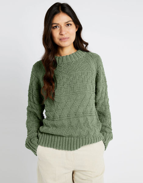 Sanches sweater shc army green
