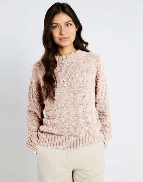 Sanches sweater shc cameo rose