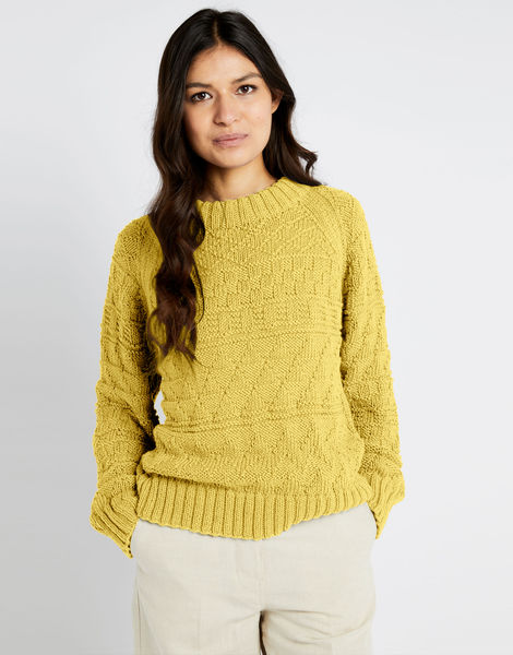 Sanches sweater shc chalk yellow