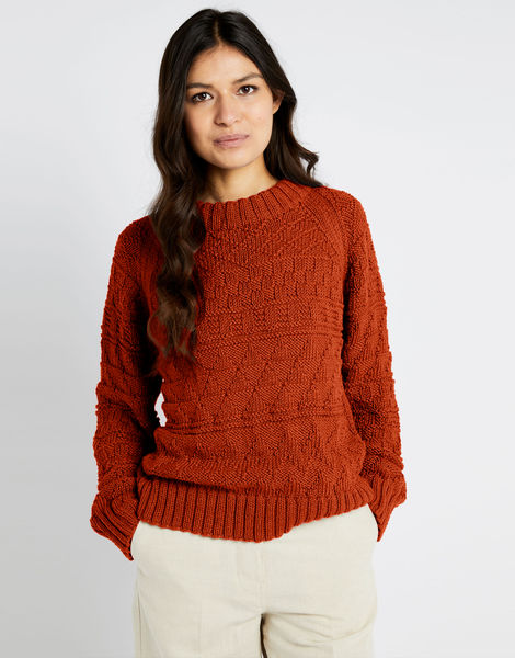 Sanches sweater shc cinnamon dust