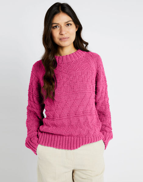 Sanches sweater shc hot punk pink