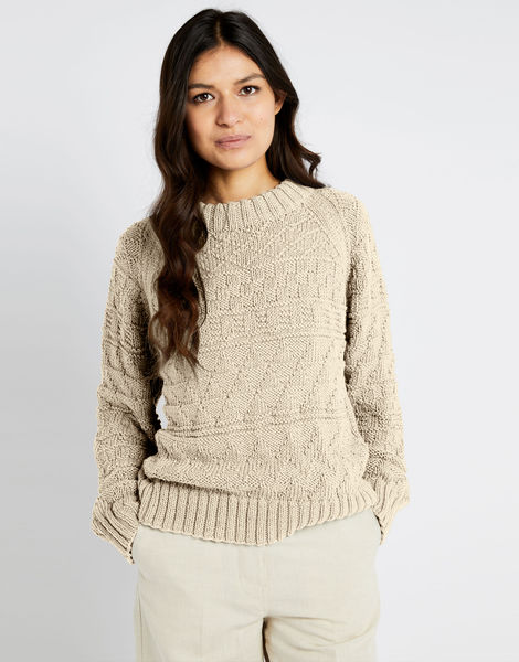 Sanches sweater shc ivory white