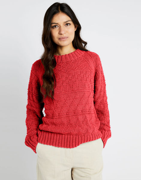 Sanches sweater shc lipstick red