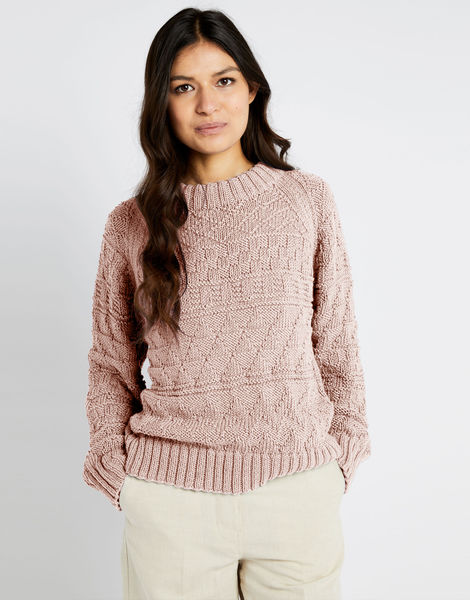 Sanches sweater shc nude pink