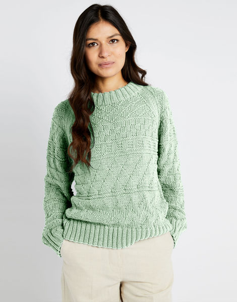 Sanches sweater shc spearmint green