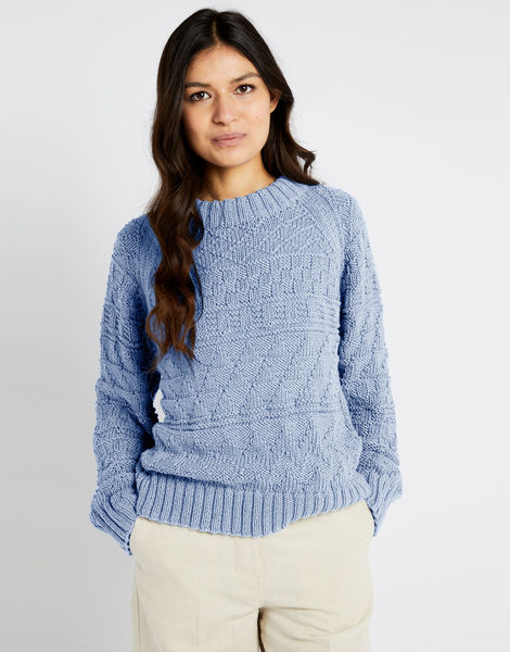 Sanches sweater shc powder blue