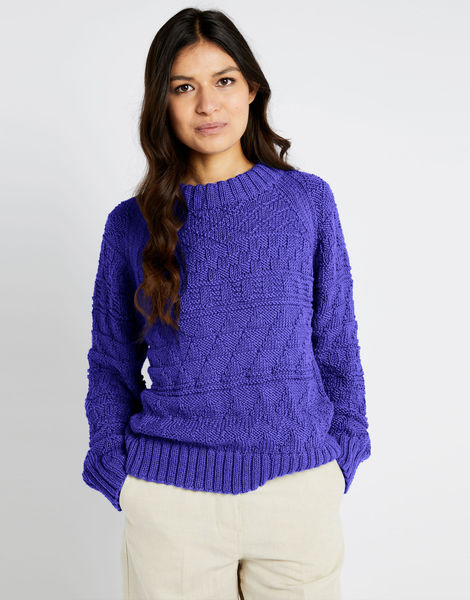 Sanches sweater shc ultra violet