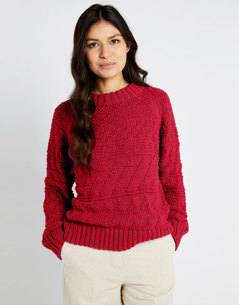 Sanches sweater shc true blood red