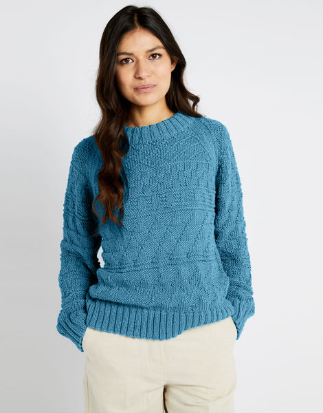 Sanches sweater shc turquoise waters