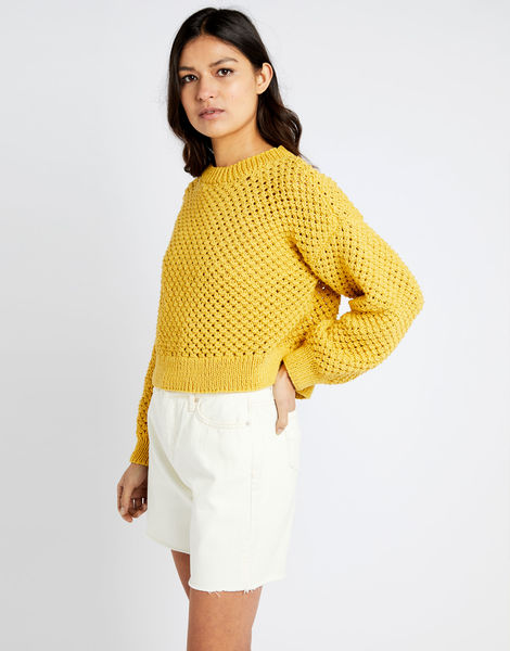 Salt sweater shc chalk yellow 01