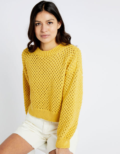 Salt sweater shc chalk yellow 04